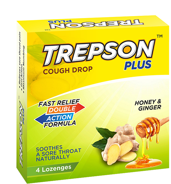Trepson Plus Honey & Ginger