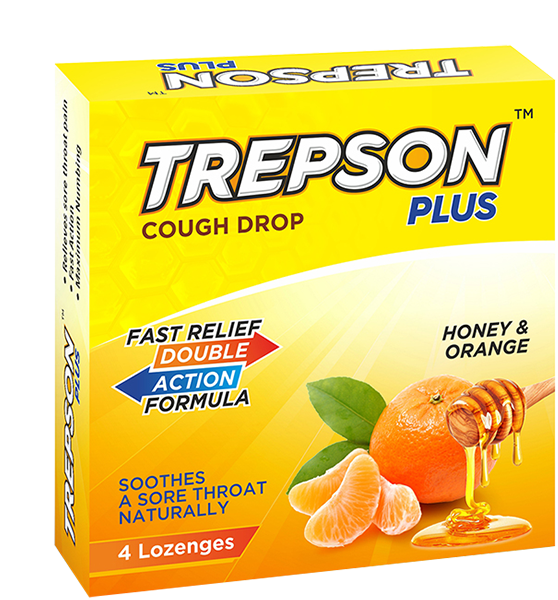 Trepson Plus Honey & Orange